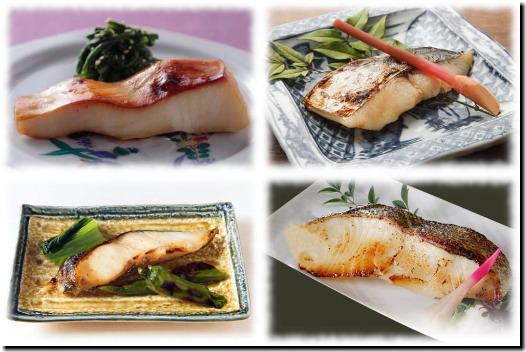 西京漬4種